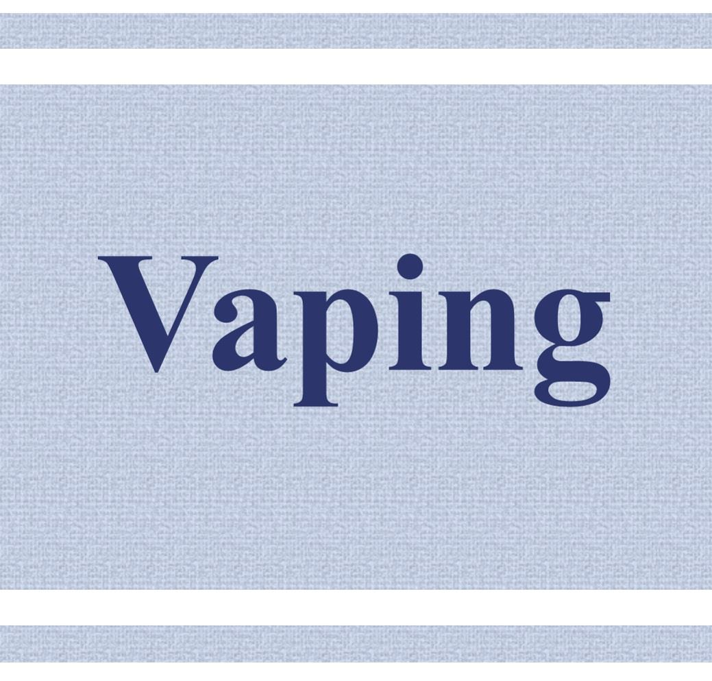 Vaping Button