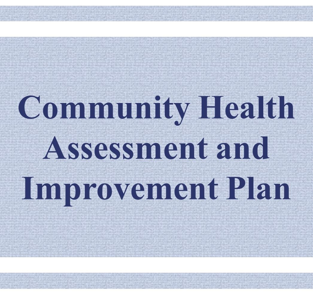 Community Health Assessment and Improvement Plan Button