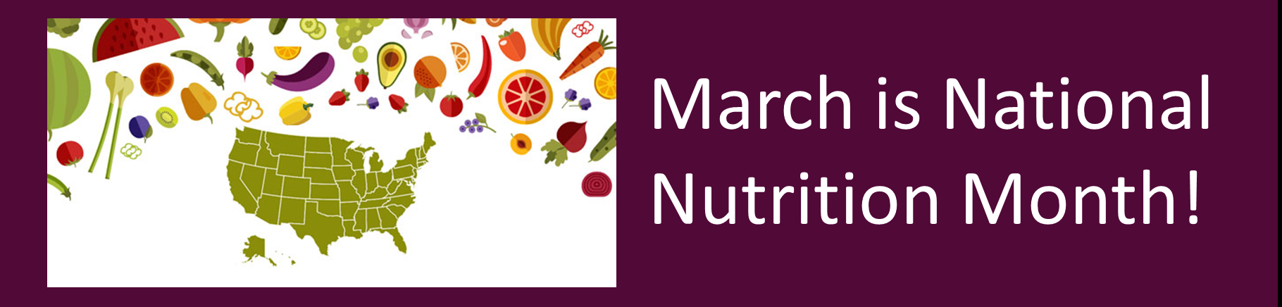 National Nutrition Month Opens in new window