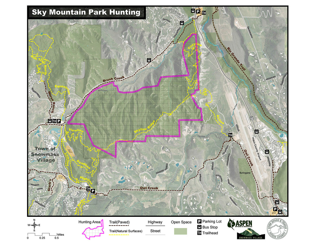 Sky Mountain Park Hunting